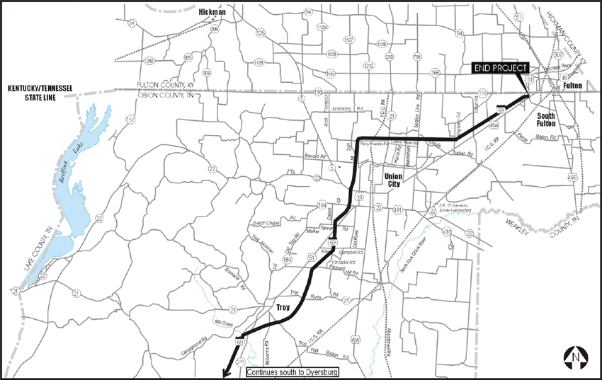 I69 Indiana Map.I 69 Memphis Evansville